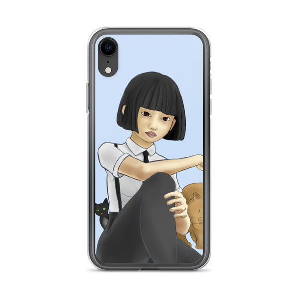 Nekohime (Cat Princess) iPhone Case