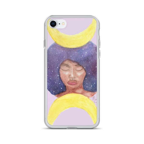 Moon Goddess iPhone Case - Morgan Cerese Art