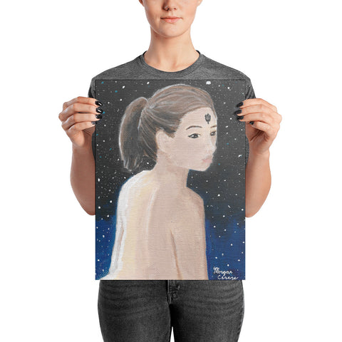 Lady Neptune Photo Paper Poster - Morgan Cerese Art