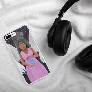 Angel of Clarity iPhone Case - Morgan Cerese Art