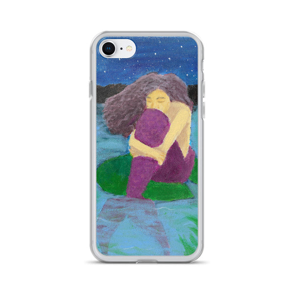 The Lost Mermaid iPhone Case - Morgan Cerese Art