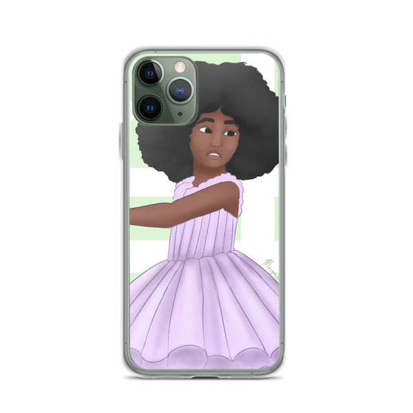 Afro Ballerina iPhone Case