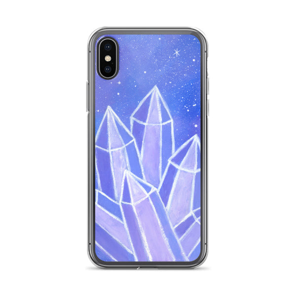 Crystalline Growth iPhone Case - Morgan Cerese Art