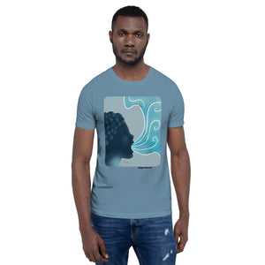 Throat Chakra - Vishuddha - Healing Affirmation Short-Sleeve Unisex T-Shirt - Morgan Cerese Art