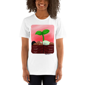 Root Chakra - Muladhara - Healing Affirmation Short-Sleeve Unisex T-Shirt - Morgan Cerese Art