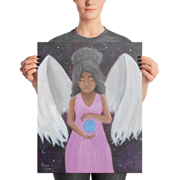 Angel of Clarity Photo Paper Poster - Morgan Cerese Art