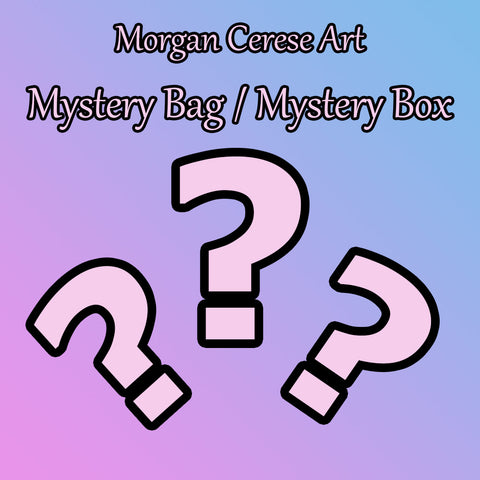 $10 Mystery Bag / Mystery Box - Morgan Cerese Art
