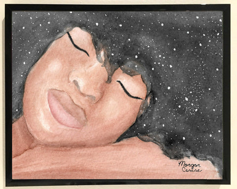 Sleeping Beauty Print - 8x10 inches - Morgan Cerese Art