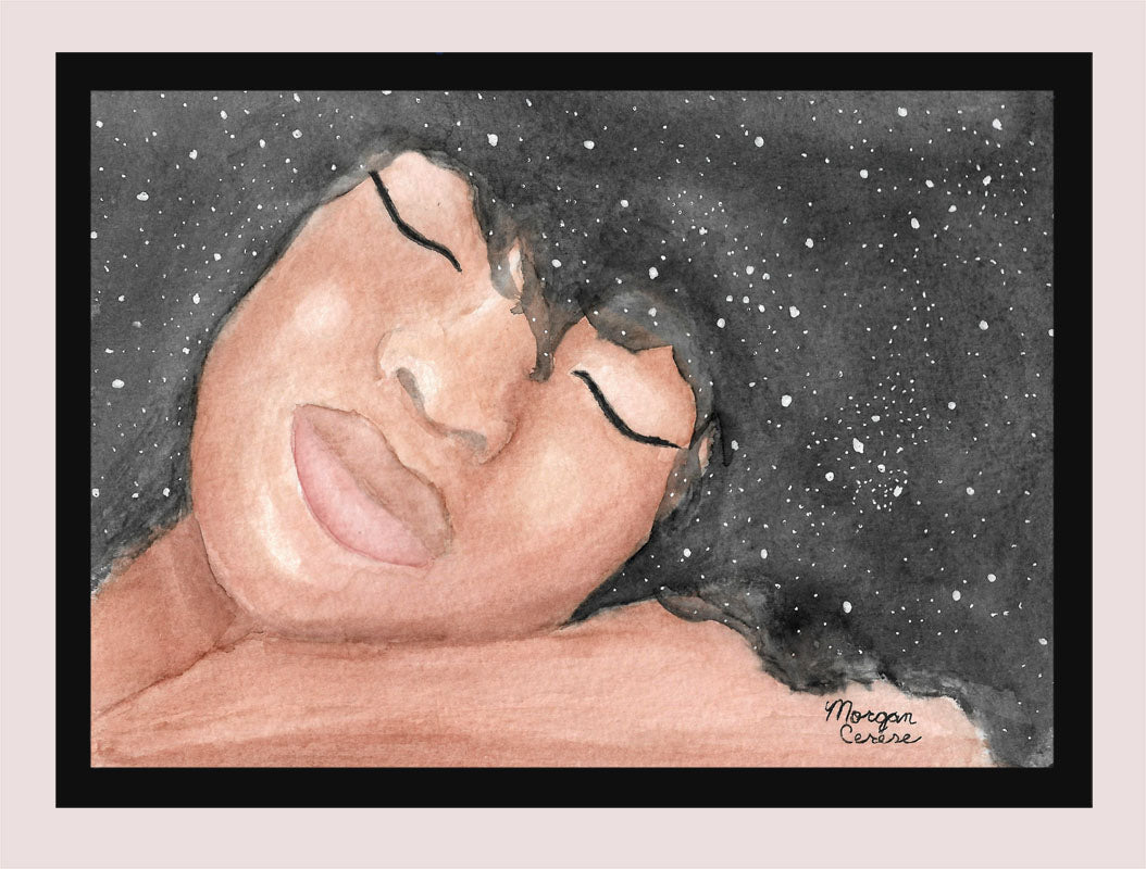 "Sleeping Beauty 5""x7"" Print"