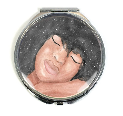 Sleeping Beauty Compact Mirror - Morgan Cerese Art