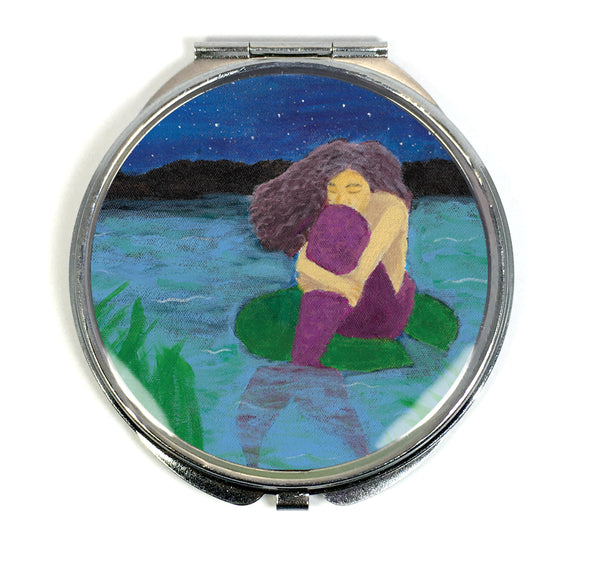 The Lost Mermaid Compact Mirror