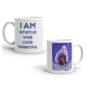 Third Eye Chakra Art & Affirmation Mug