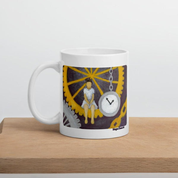 Gears of Time Mug - Morgan Cerese Art