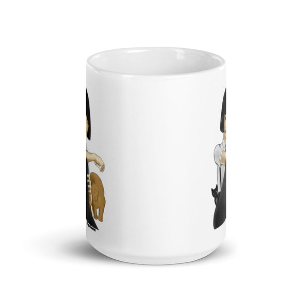 Nekohime (Cat Princess) Mug - Morgan Cerese Art