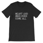 Heart and Mind Over Come All Short-Sleeve Unisex T-Shirt