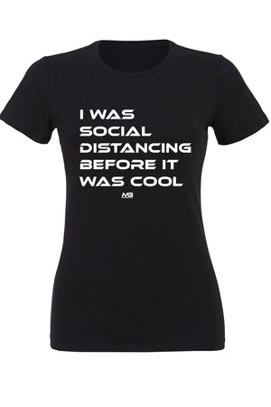"CLEARANCE 50% OFF - WOMEN'S ""BEFORE IT WAS COOL"" FITTED TEE"