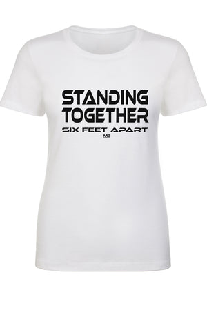 "CLEARANCE 50% OFF - WOMEN'S ""STANDING TOGETHER"" FITTED TEE"