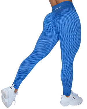 HEX LEGGINGS - BLUE