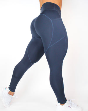 AGILITY LEGGINGS - NAVY