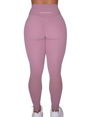 BUTTER LEGGINGS - MAUVE