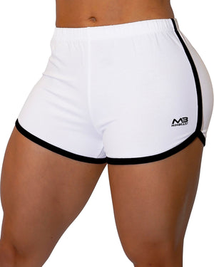 MOVE SHORTS - WHITE