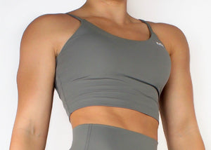 LIFESTYLE SPORTS TOP - TAUPE