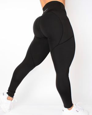 AGILITY LEGGINGS - BLACK