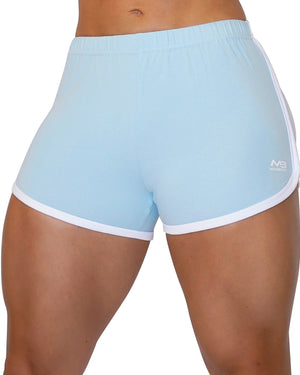 MOVE SHORTS - BABY BLUE