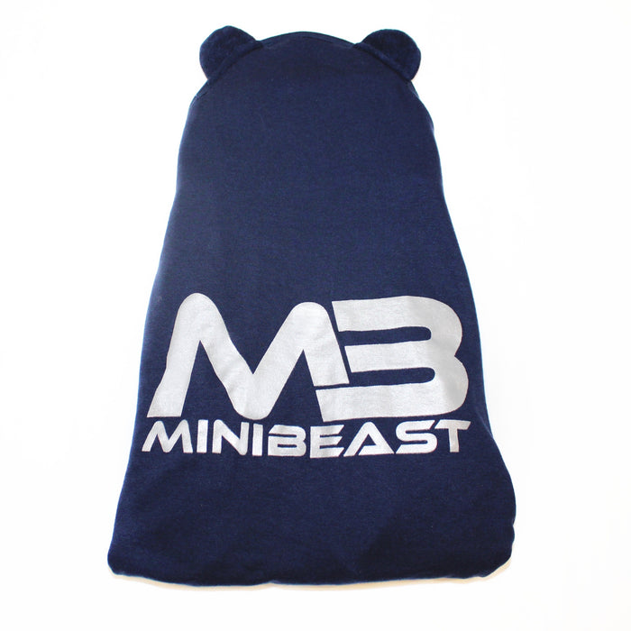 MINIBEAST HOODED TERRY INFANT TOWEL WITH EARS