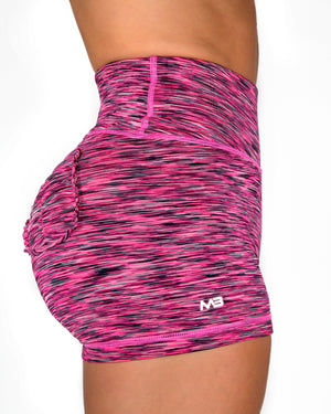 CURVE SHORTS - RASPBERRY (STRETCH)