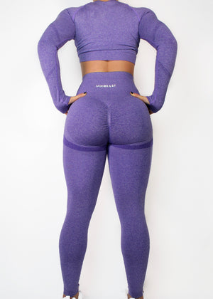 ASSETS LEGGINGS - AMETHYST