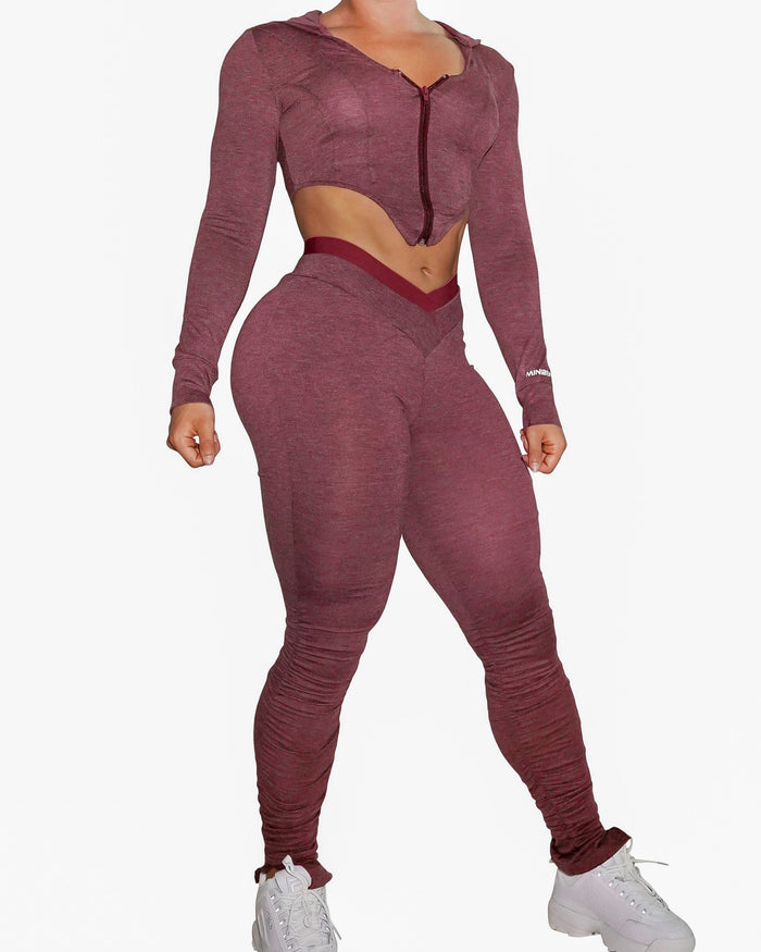 BARE MATCHING SET - MAROON
