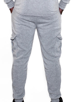 ALPHA JOGGERS - LIGHT GREY