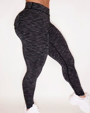 CURVE-LOW LEGGINGS - MIDNIGHT SKY (STRETCH)