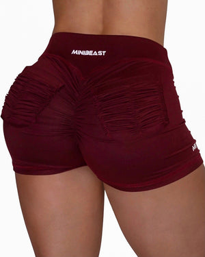 CURVE-LOW SHORTS - MAROON