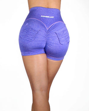 CURVE SHORTS - HEATHER LILAC