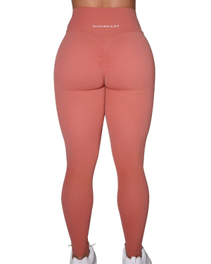 BUTTER LEGGINGS - PAPAYA