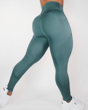 AGILITY LEGGINGS - TEAL