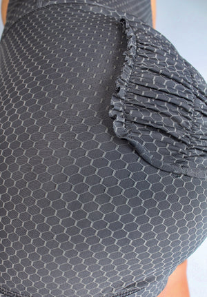 CURVE SHORTS - HONEYCOMB GREY