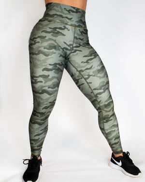 CURVE LEGGINGS - ARMY CAMO