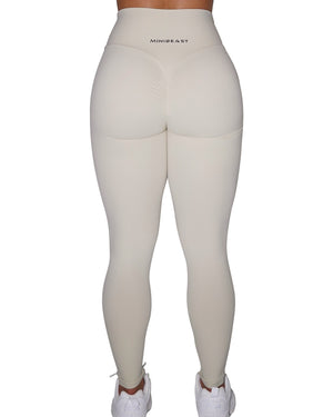 BUTTER LEGGINGS - CREAM