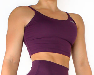 LIFESTYLE SPORTS TOP - PLUM
