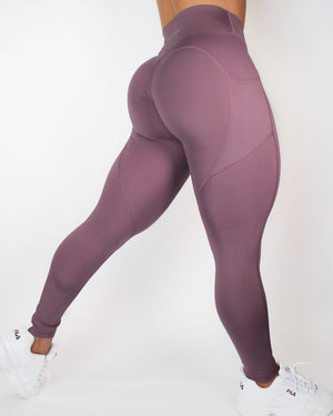 AGILITY LEGGINGS - MAUVE