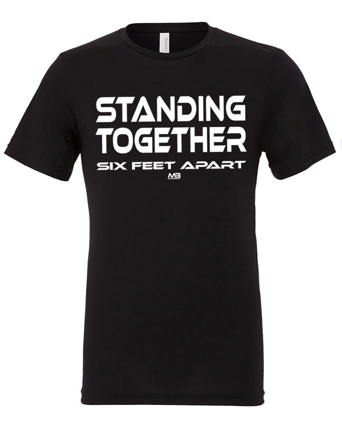 "CLEARANCE 50% OFF - UNISEX ""STANDING TOGETHER"" TEE"