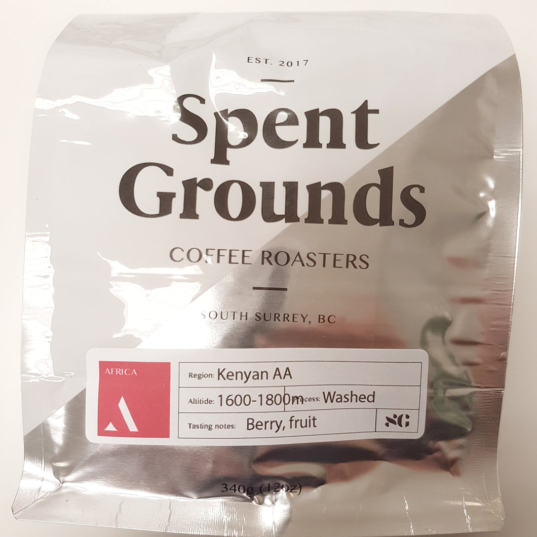 Roasted Kenyan AA-MEDIUM ROAST-340g