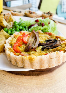 "brEAThe-Vegan Quiche and Pies-5"" Size"