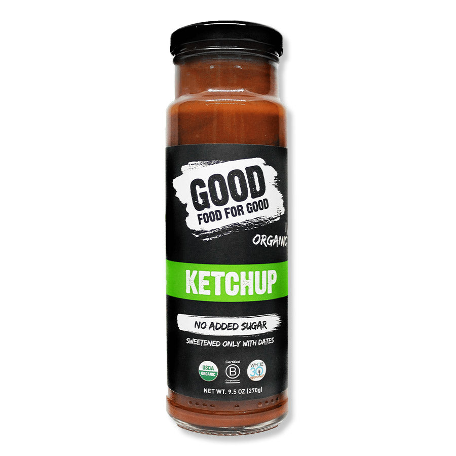 Good Food for Good-Organic and Vegan Ketchup