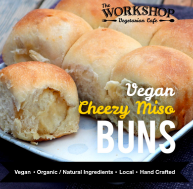 The Workshop-Vegan Cheesy Miso Buns-Tray of 9 Buns