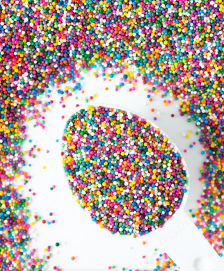 Sweetapolita-Circus Nonpareils Sprinkles-Vegan and GF-4oz
