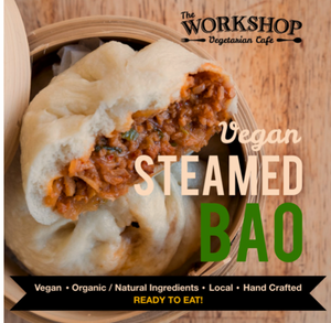 The Workshop Vegetarian-Steamed Bao-Vegan-Package of Two